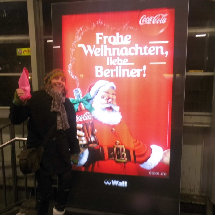 Frohe Weihnachten am 28 Januar 2014, Berlin