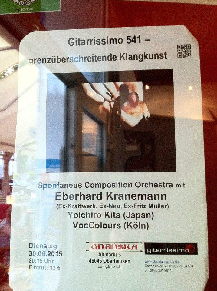 30 Juni 2015 Gdanska, Oberhausen
